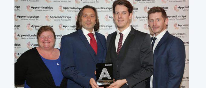 Apprenticeship Awards hat-trick