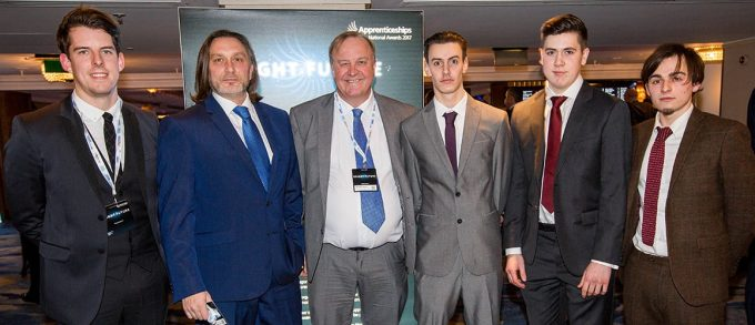 Proud to be a Top 100 Apprenticeship Employer