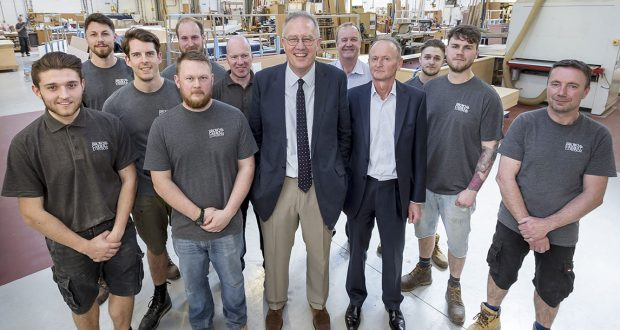Local MP visits Brown & Carroll