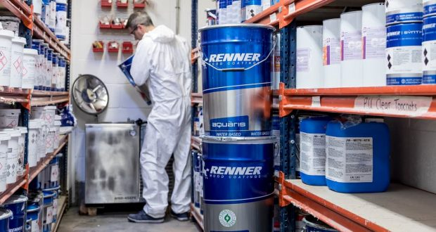CCS Innovative paint solvent machine