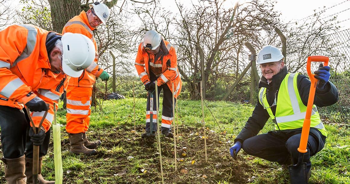Beddington Sewage Treatment Works